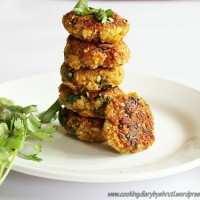 Oats and Vegetable Patties