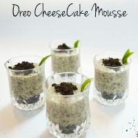 Oreo Cheesecake Mousse